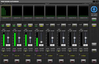 Dugan Automatic Microphone Mixers